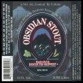 Obsidian Stout - Frontlabel