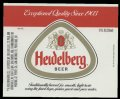 Heidelberg Beer - Exceptional Quality since 1903