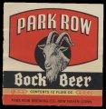 Park Row Bock Beer