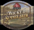 Wicked summer brew - small label