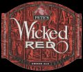 Wicked Red - small label