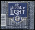 Old Milwaukee Light - Blue label