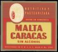 Malta Caracas Sin Alcohol
