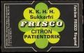 K.K.H.H. Sukkerfri Citron Patientdrik