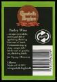 Barley Wine - Rygetiket