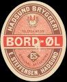 Bord-�l - Brystetiket