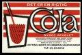 Cola - Brystetiket