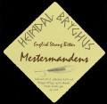 English Strong Bitter Mestermandens - Brystetiket
