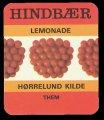 Hindb�r Lemonade - Brystetiket