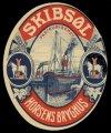Skibs�l - Brystetiket