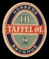 Taffel�l - Brystetiket