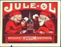 Jule-�l Bryggeriet Husum K�benhavn - Brystetiket
