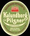 Kalundborg Pilsner - Brystetiket
