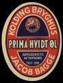 Prima Hvidt�l - Jacob Bagge - Brystetiket