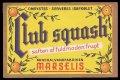 Club Squash - Brystetiket