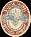 Baiersk Lager�l - Frontlabel
