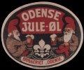 Odense Jule-�l - Motiv: to nisser med �lkrus i h�nden