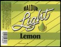 Baldur Lemon light 25 cl.