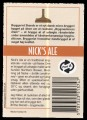 Nicks Ale - Rygetiket