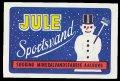 Jule Sportsvand - Brystetiket