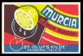 Murcia Lemon squash - Brystetiket