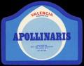 Apollinaris - brystetiket