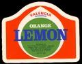 Orange Lemon - Brystetiket