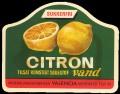 Citronvand tilsat kunstigt s�destof