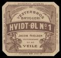 Hvidt-�l no. 1 - Jacob Nielsen Vesterbrogade no. 47 Veile
