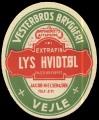 Extrafin Lys Hvidt�l - Brystetiket